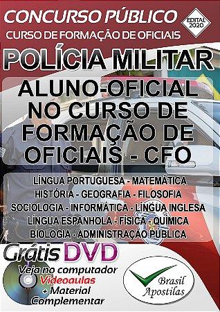 Polícia Militar de São Paulo PM/SP  - Curso Para Formação de Oficiais - CFO - EDITAL 2020/2021
