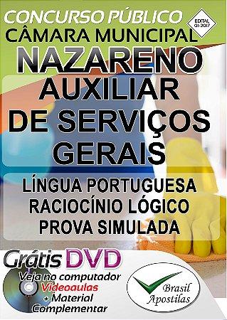 Nazareno - MG - 2017 - Apostila para Nível Fundamental