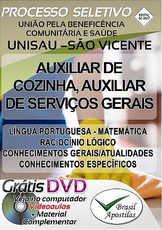 União Pela Beneficência Comunitária e Saúde - UNISAU - São Vicente - SP - 2017