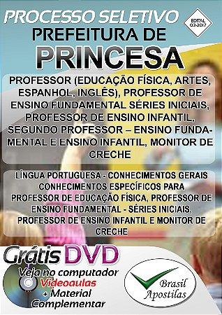 Princesa - SC - 2017 - Apostila Para Nível Médio e Superior