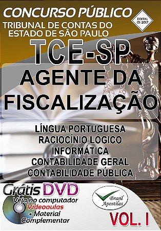 Tribunal de Contas do Estado de São Paulo - TCE - SP - 2017 - Apostila Para Nível Superior -Preparatória
