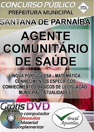 Santana de Parnaíba - SP - 2018 - Apostila Para Agente Comunitário de Saúde