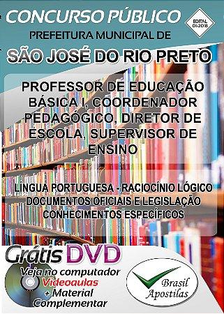 São José do Rio Preto - SP- 2018 - Apostila Para Nível Superior