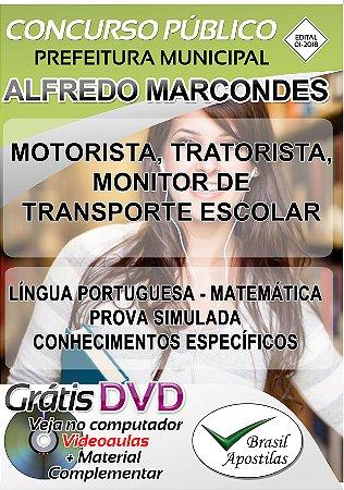 Alfredo Marcondes - SP - Apostilas Para Nível Fundamental, Médio e Superior