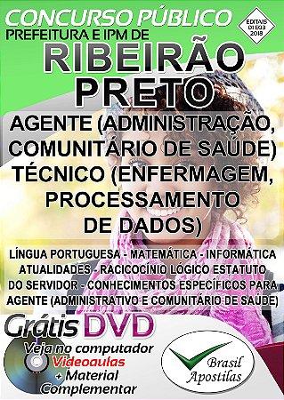 Ribeirão Preto - SP - 2018 - Apostilas Para Nível Médio, Técnico e Superior