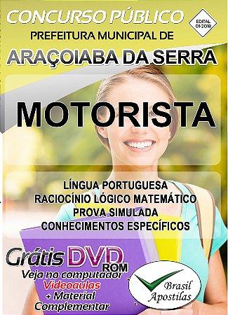Araçoiaba da Serra - SP - 2018 - Apostilas Para Nível Fundamental e Médio