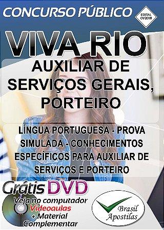 Viva Rio -RJ - 2018 - Apostila Para Nível Fundamental - VERSÃO DIGITAL