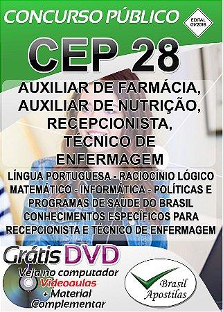 CEP - RJ - 2018 - Apostila Para Nível Médio e Técnico - VERSÃO DIGITAL