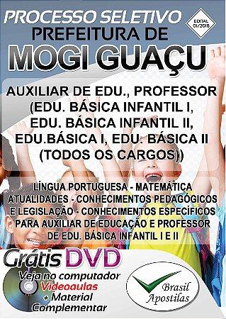 Mogi Guaçu - SP - 2018 - Apostila Para Nível Superior