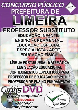 Limeira - SP - 2018 - Apostila Para Professor
