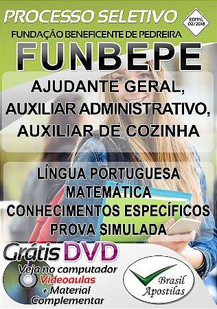 FUNBEPE - SP - Pedreira - 2018/2019 - Apostila Para Nível Fundamental