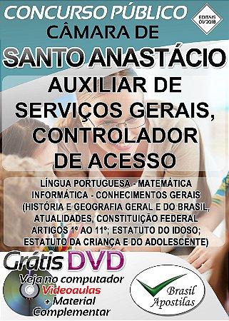 Santo Anastácio - SP - 2018 - Apostila Para Nível Fundamental