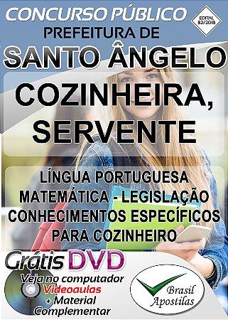 Santo Ângelo - SC - 2018/2019 - Apostilas Para Nível Fundamental, Médio, Técnico e Superior