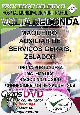 Volta Redonda - RJ - 2018/2019 - Hospital Municipal Dr. Munir Rafful - Apostilas Para Nível Fundamental, Médio e Técnico
