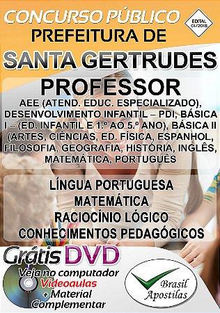 Santa Gertrudes - SP - 2019 - Apostila Para Professor