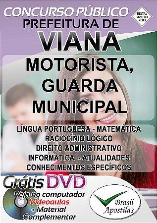 Viana - ES - 2018/2019 - Apostilas Para Nível Fundamental, Médio e Superior