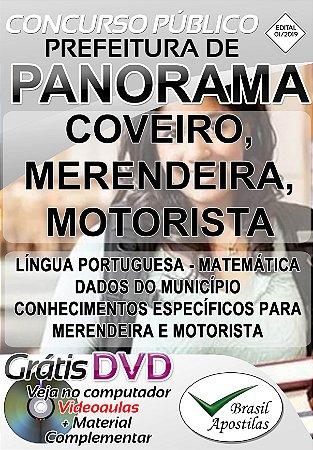 Panorama - SP - 2019 - Apostilas Para Nível Fundamental e Médio