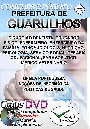 Guarulhos - SP - 2019 - Apostila Para Nível Superior