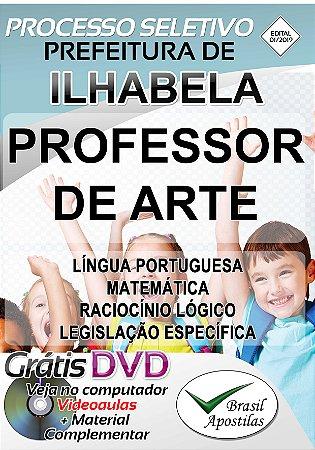 Ilhabela - SP - 2019 - Apostila Para Professor de Arte