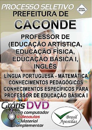 Caconde - SP - 2019 - Apostila Para Professor