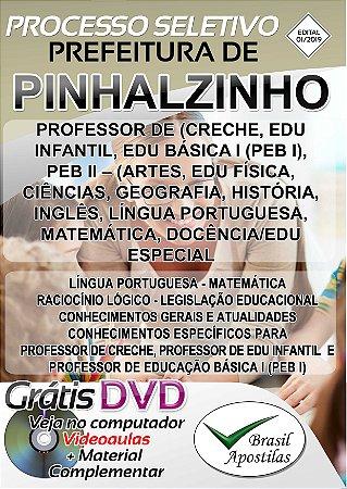 Pinhalzinho - SP - 2019 - Apostila Para Professor