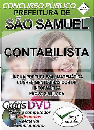 São Samuel - SP - 2019 - Apostila Para Contabilista