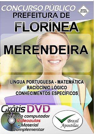 Florínea - SP - 2019 - Apostilas Para Nível Fundamental, Médio e Superior