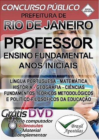 Rio de Janeiro - Apostila para Professor de Ensino Fundamenta