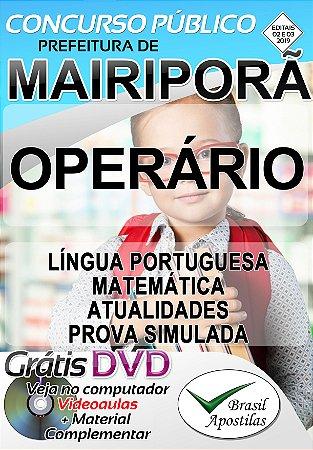 Mairiporã - 02/2019 - SP - Apostilas Para Nível Fundamental, Médio, Técnico e Superior