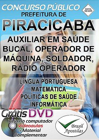 Piracicaba -2019 - 03/2019 - Apostilas Para Nível Fundamental, Médio e Técnico