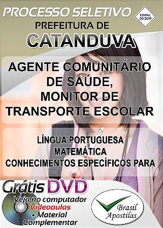 Catanduva - SP - 2019 - Apostilas Para Nível Médio e Superior