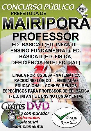 Mairiporã - SP - 2919 - Apostila Para Professor