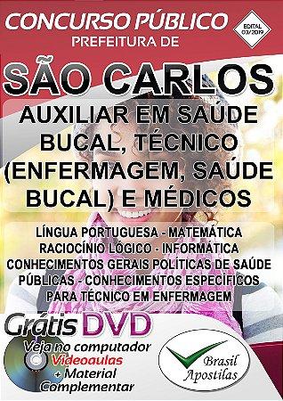 São Carlos - SP - 2019 - Apostila Para Nível Médio e Técnico