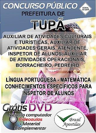 Tupã - SP - 2019 - Apostilas Para Nível Fundamental, Médio, técnico e Superior