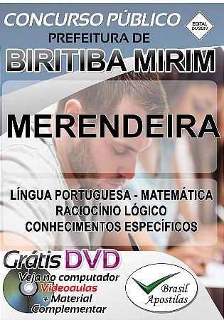 Biritiba Mirim - SP - 2019 - Apostilas Para Nível Fundamental, Médio e Superior
