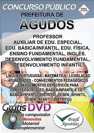 Agudos - SP - 2019 - Apostila Para Professores