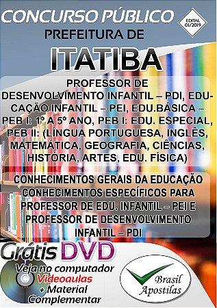Itatiba - SP - 2019 - Apostila Para Professor