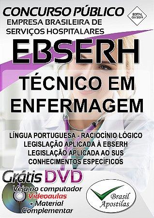 Empresa Brasileira de Serviços Hospitalares - EBSERH - 2019 - Apostilas Para Nível Médio e Técnico