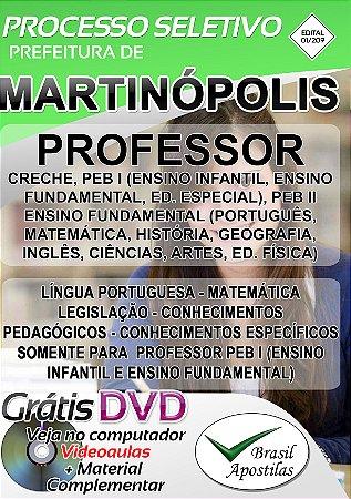 Martinópolis - SP - 2019 - Apostila Para Professor