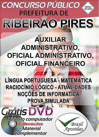 Ribeirão Pires - SP - 2020 - Apostila Para Nível Fundamental