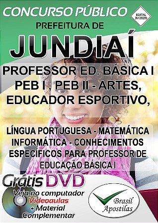 Jundiaí - SP - 2020 - Apostila Para Professores
