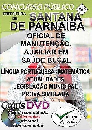 Santana de Parnaíba - SP-2020 - Apostilas Para Nível Fundamental, Médio, Técnico e Superior
