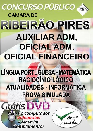 Ribeirão Pires - SP - Câmara - 2020 - Apostila Para Nível Fundamental