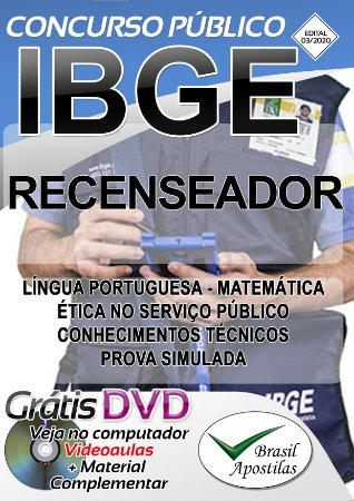 IBGE - Apostila Para Recenseador - APOSTILA PREPARATÓRIA