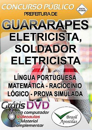 Guararapes - SP - 2020 - Apostila Para Soldador Eletricista e Eletricista