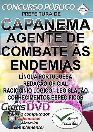 Capanema - PR - 2020 - Apostilas Para Nível Fundamental, Médio e Técnico