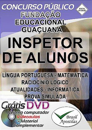 Fundação Educacional Guaçuana - SP - 2020 - Apostilas Para Nível Fundamental, Médio e Superior