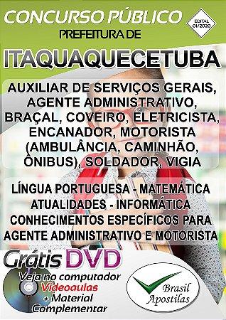 Itaquaquecetuba - SP - 2020 - Apostila Para Nível Fundamental