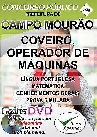 Campo Mourão - PR - 2020 - Apostilas Para Nível Fundamental, Médio e Superior