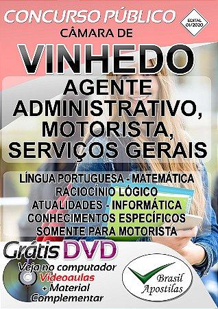 Vinhedo - SP - 2020 - Apostila Para Motorista